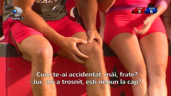 EXATLON: Momentul in care piciorul lui Andrei Stoica pur si simplu s-a rupt