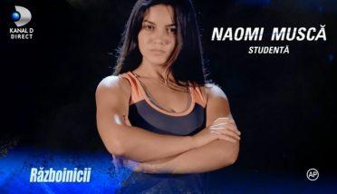 Naomi de la Razboinici, probleme in prima emisiune Exatlon! Ce a patit concurenta?