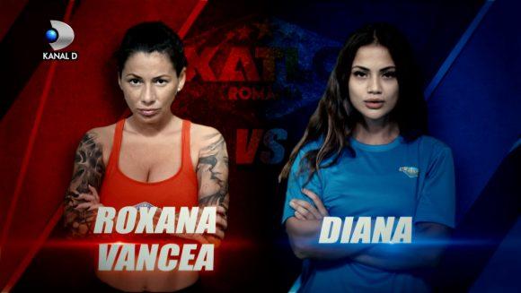 Roxana Vancea si Diana Sentes, noile concurente de la Exatlon, la primul duel fata  in fata! Cine a castigat punctul