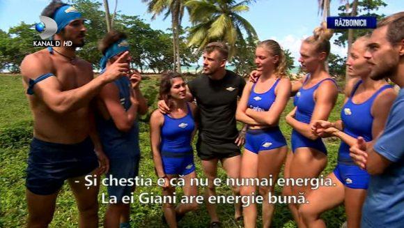 """Care este diferenta dintre Giani Kirita si Ionut """"Jaguarul"""". Razboinicii au dat verdictul: """"La ei Giani are energie buna.."""""""