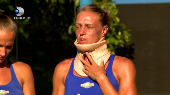 """Cu cearcane adanci si cu guler cervical! Asa s-a prezentat Ana Maria Otvos dupa accidentare! Cat de grava e situatia: """"Doctorii inca nu sunt siguri.."""""""