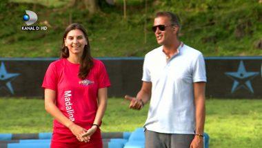 Pe cine sustinea Madalina Predoi in primul sezon Exatlon Romania! Sotul ei a dat-o de GOL