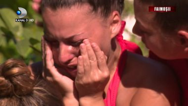 """AMI, in lacrimi dupa ce s-a autopropus pentru eliminare: """"O sa trag tare"""""""