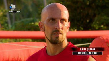 Calin Serban a fost ELIMINAT de la Exatlon Romania! Mesaj surprinzator pentru echipa Faimosilor!