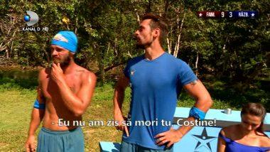 "Costin, conflict de proportii cu Razboinicii: ""Scuzati-ma, boss…"""