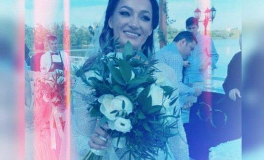 Beatrice Olaru s-a casatorit in weekend! Ce rochie a purtat si cine au fost domnisoarele ei de onoare